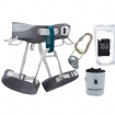 Black Diamond Primrose Rock Climbing Harness Package